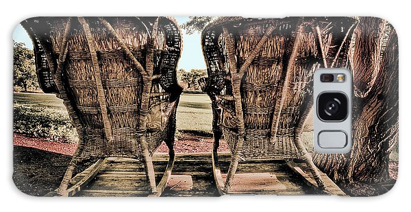 Rocking Chairs Galaxy Case by Terry Garvin
