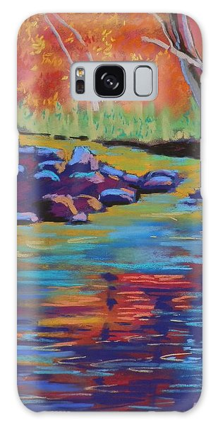 Rocks And Reflections Galaxy Case