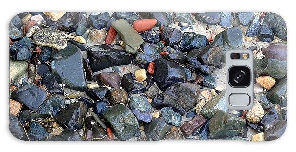 Rocks And Stones Galaxy Case by Deborah  Crew-Johnson