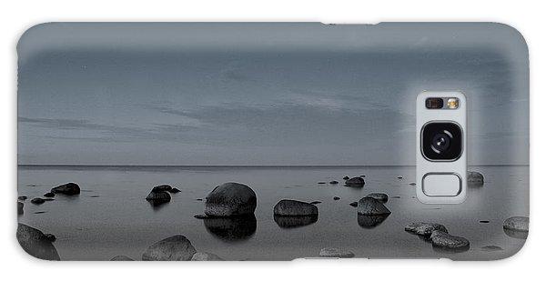 Rocks At Midnight Galaxy Case by Alex Weinstein