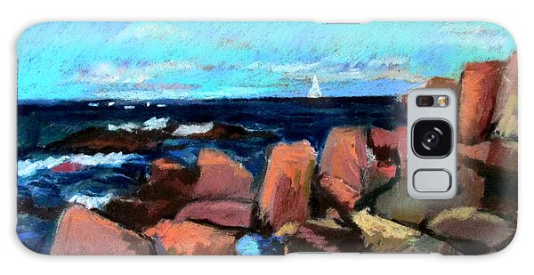 Rocks At Ogunquit Galaxy Case