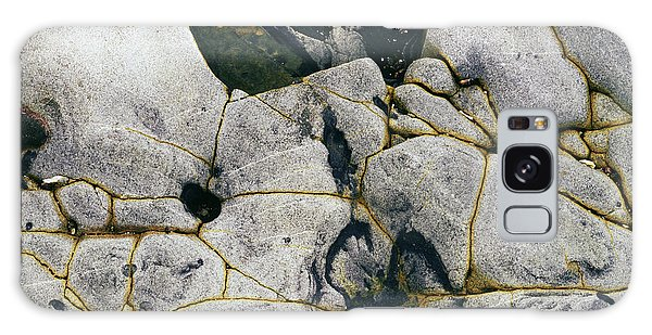 Rocks At Point Lobos C2014 Galaxy Case