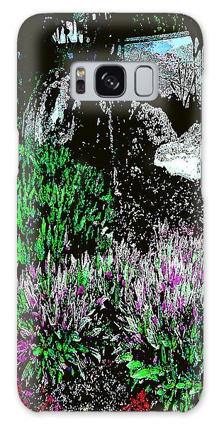 Rocks In The Garden Galaxy Case by Merton Allen