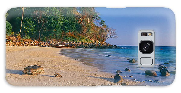 Phi Phi Island Galaxy Case - Rocks On The Beach, Phi Phi Islands by Panoramic Images
