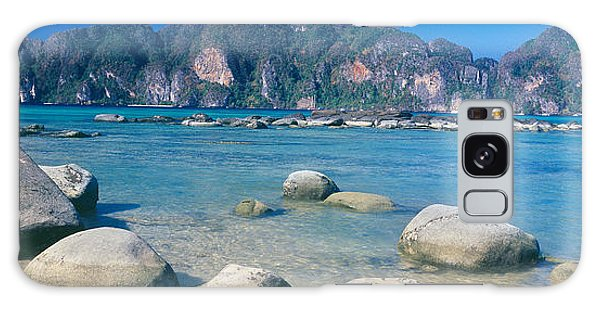 Phi Phi Island Galaxy Case - Rocks On The Coast, Phi Phi Islands by Panoramic Images