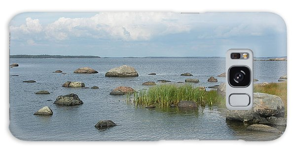 Rocks On The Baltic Sea Galaxy Case
