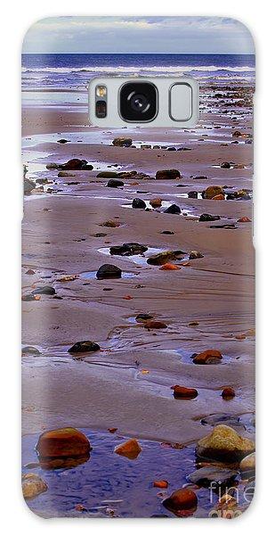 Rocks On The Seashore Galaxy Case