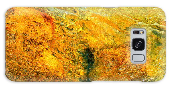 Rocks Under The Stream By Christopher Shellhammer Galaxy Case