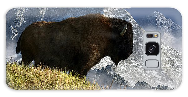 Rocky Mountain Buffalo Galaxy Case