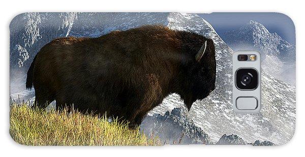 Rocky Mountain Buffalo Galaxy Case