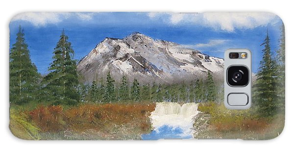 Rocky Mountain Creek Galaxy Case by Tim Townsend