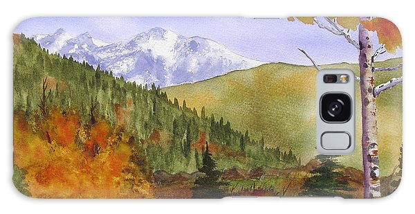 Galaxy Case featuring the painting Rocky Mountain High by Rich Stedman