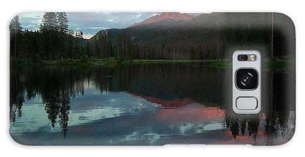 Rocky Mountain Sunset Galaxy Case