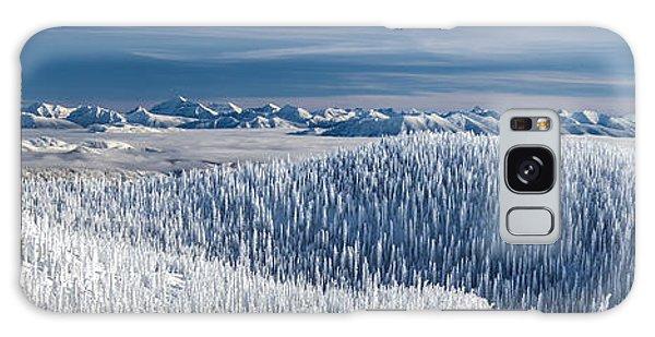 Rocky Mountain Winter Galaxy Case by Aaron Aldrich