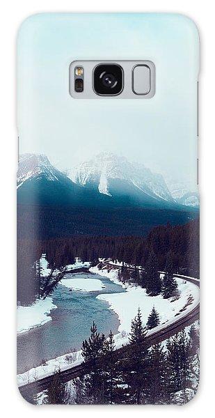 Rocky Mountains Galaxy Case by Kim Fearheiley