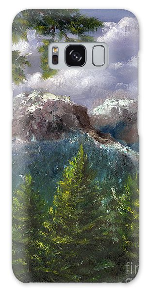 Rocky Mountains National Park Colorado Galaxy Case