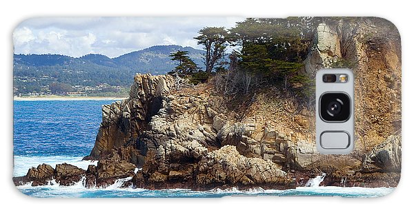 Rocky Outcropping At Point Lobos Galaxy Case