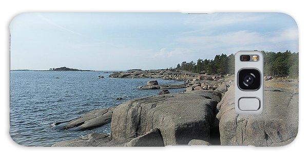 Rocky Seashore 2 In Hamina  Galaxy Case