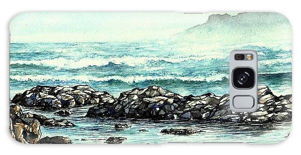 Rocky Seashore Galaxy Case by Heidi Kriel