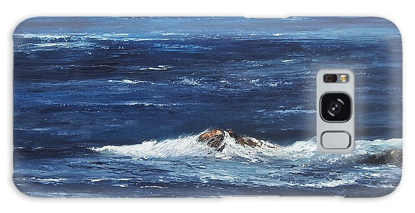Rocky Shore Galaxy Case by Valerie Travers