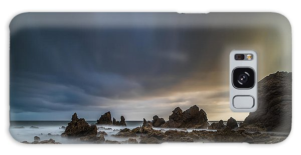 Rocky Southern California Beach 3 Galaxy Case
