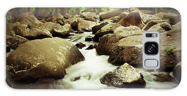 Rocky Stream Galaxy Case by Michael Porchik