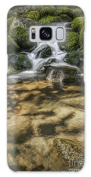 Rocky Waterfall Galaxy Case