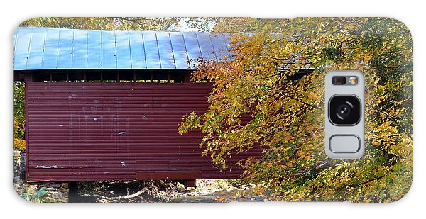Roddy Road Covered Bridge Galaxy Case