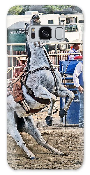 Prca Galaxy Case - Rodeo Horse Cheers by Gary Keesler