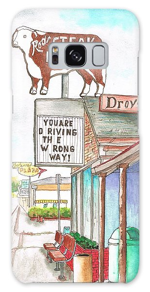 Rod's Steak House In Route 66 - Williams - Arizona Galaxy Case