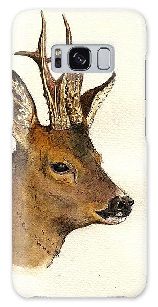 Roe Deer Head Study Galaxy Case