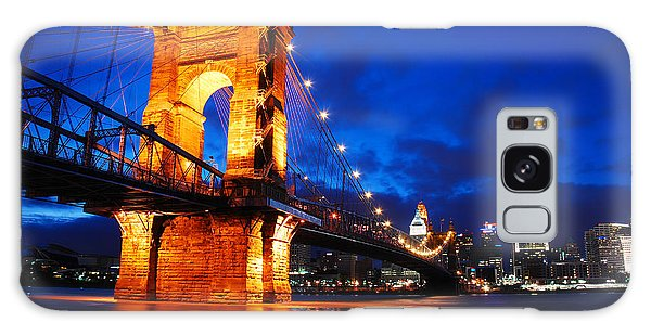 Roebling Bridge Cincinnati Galaxy Case