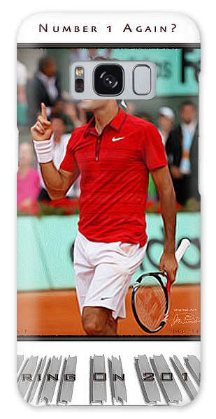 Roger Federer Number One In 2015 Galaxy Case