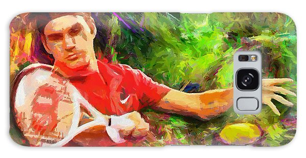 Tennis Galaxy S8 Case - Roger Federer by RochVanh