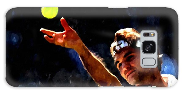 Roger Federer Tennis 1 Galaxy Case
