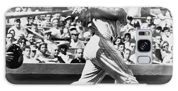 Yankee Stadium Galaxy S8 Case - Roger Maris Hits 52nd Home Run by Underwood Archives