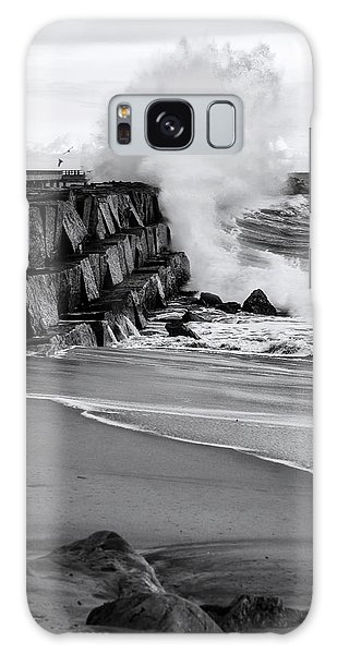 Rogue Bullet Wave Cabrillo Beach By Denise Dube Galaxy Case