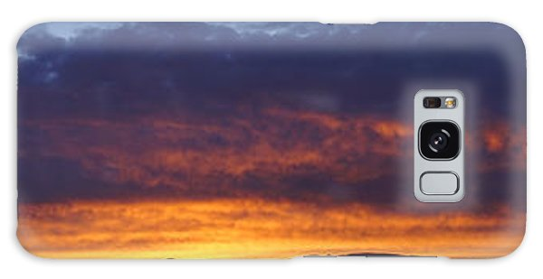 Rogue Valley Sunset Panoramic Galaxy Case