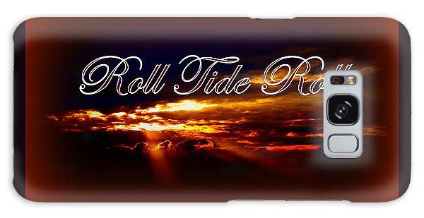 Roll Tide Roll W Red Border - Alabama Galaxy Case