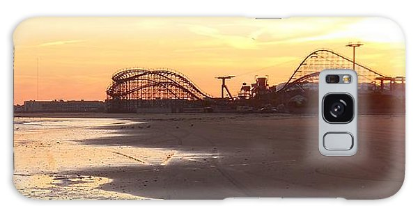 Roller Coaster Sunset Galaxy Case
