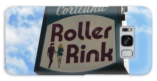 Roller Rink Galaxy Case by Michael Krek