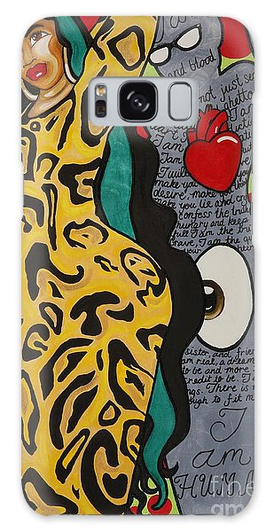 Galaxy Case featuring the painting Rolling Hills by Aliya Michelle