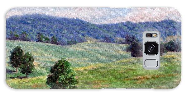 Rolling Hills Galaxy Case by Bonnie Mason