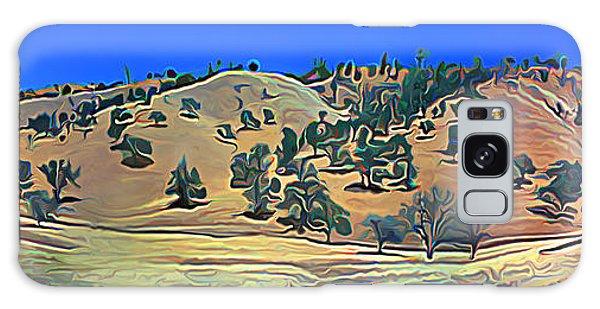 Rolling Hills In The Summer Galaxy Case by Wernher Krutein