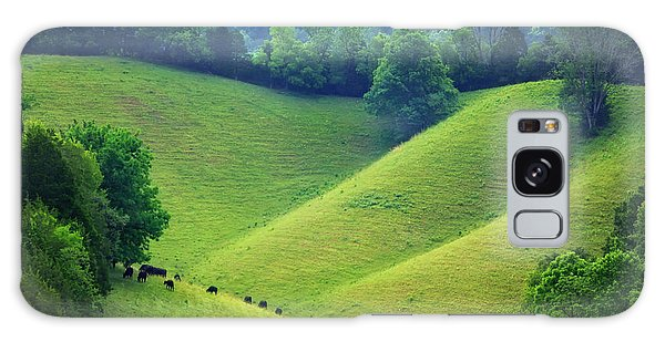 Rolling Hills Of Tennessee Galaxy Case
