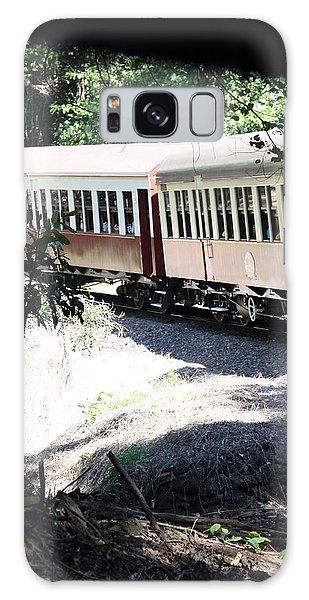Galaxy Case featuring the photograph rolling Stock by Debbie Cundy
