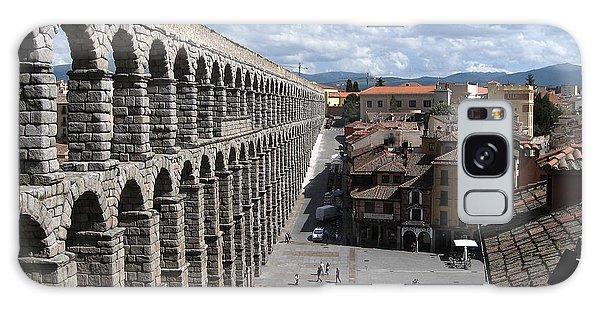 Roman Aqueduct I Galaxy Case by Farol Tomson