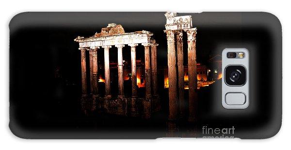 Roman Forum At Night Galaxy Case