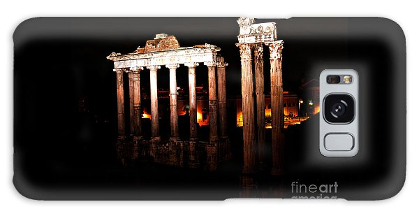 Roman Forum At Night Galaxy Case by Nancy Bradley