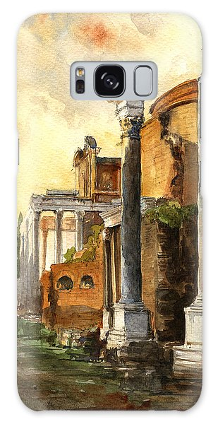 Temple Galaxy Case - Roman Forum by Juan  Bosco